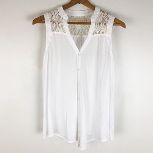 Anthropologie edme & esyllte sleeveless top 0726